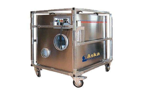 KT2000 Dessicant Dehumidifier Hire - Aska Sykes