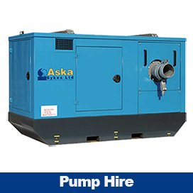 Pump Hire - Aska Sykes