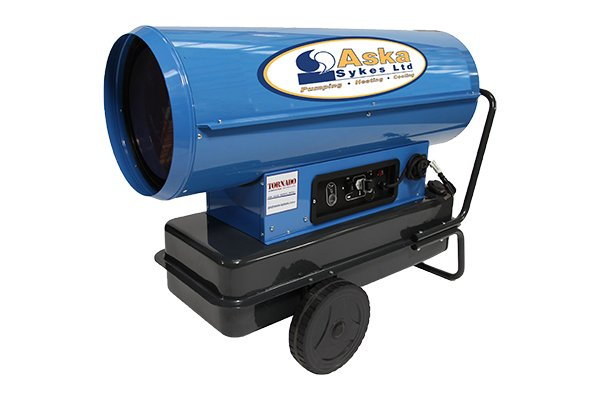 Tornado Direct Fired Portable Oil Heater - Aska Sykes